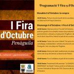 Penàguila celebra el 9 d'octubre amb una fira artesanal, cultural i gastronòmica