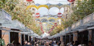 Més de 50.000 persones enceten el Nadal a la Fira de Xixona