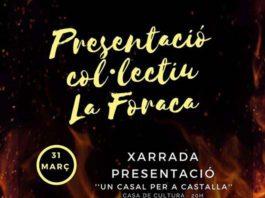 El Col·lectiu 'La Foraca' es presenta a Castalla el 31 de març