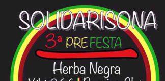 La 3a Prefesta del festival SolidariSona serà a Cocentaina el 25 de març