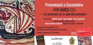 El Grup Harca presenta els seus llibres sobre història i identitat valenciana a Cocentaina