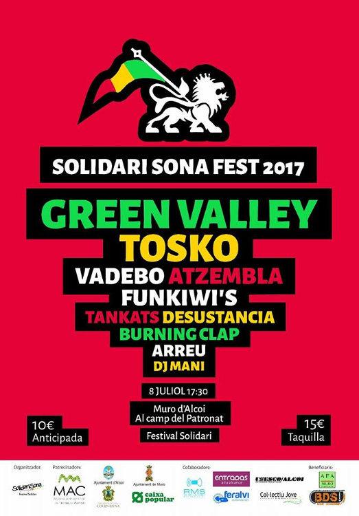 El festival SolidariSona serà a Muro el pròxim 8 de juliol