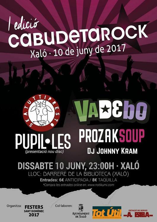Els Festers de Xaló posen en marxa el festival CabudetaRock