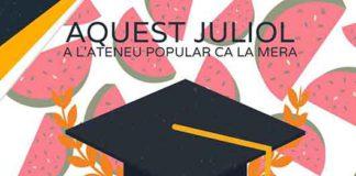 La Universitat d'Estiu de Ca la Mera torna a Ontinyent pel mes de juliol