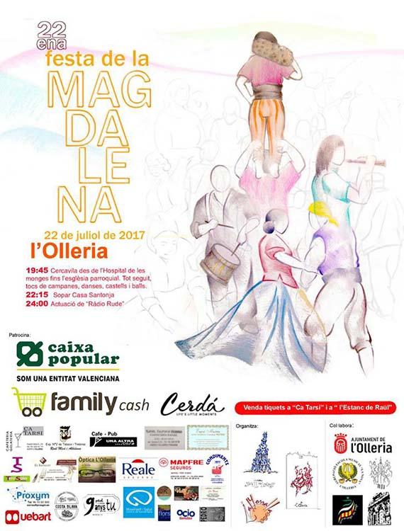 El Ball dels locos torna a l'Olleria amb motiu de la Festa de la Magdalena