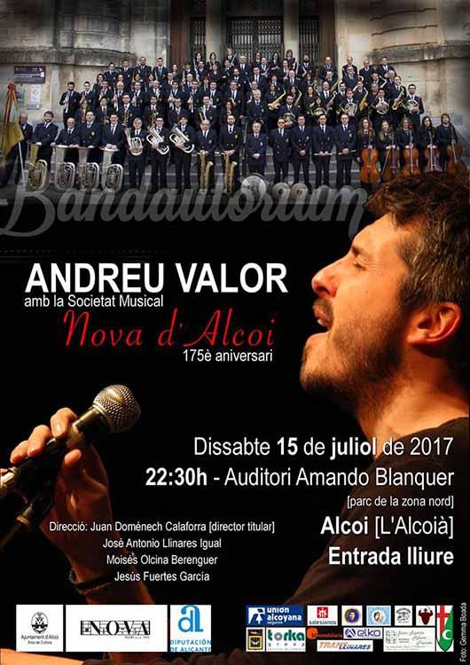 Andreu Valor i la Música Nova celebren un aniversari musical conjunt amb 'Bandautòrium'