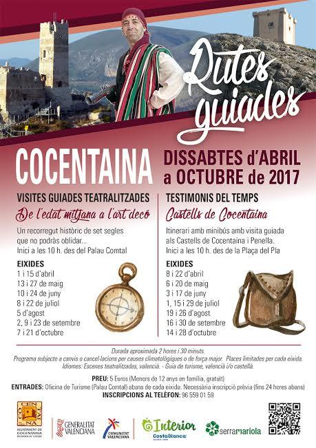 Cocentaina mostra la seua història amb rutes guiades pel terme i els castells