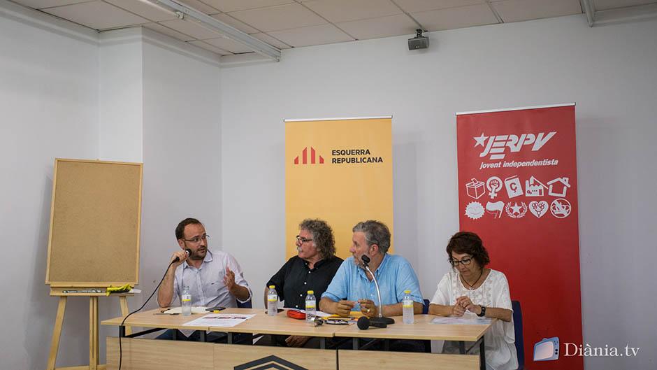 Joan Tardà omple Alcoi per la memòria històrica