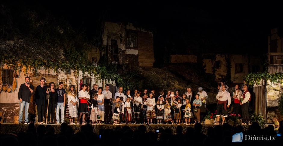 L'Aparició de la Mare de Déu inicia les festes patronals a Agres