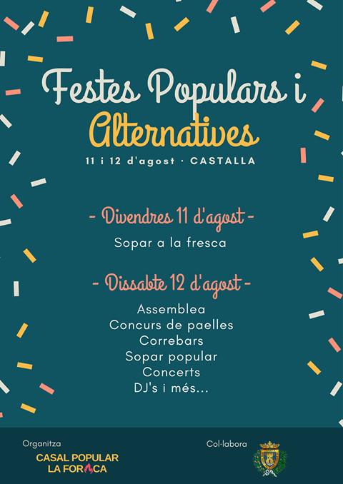 Les Festes Populars i Alternatives de Castalla celebren la segona edició