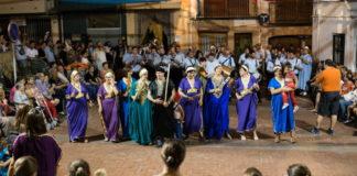 Castell de Castells culmina les festes patronals amb una entrada de Moros i Cristians