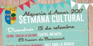 L'Alqueria d'Asnar viu la setmana cultural prèvia a les festes