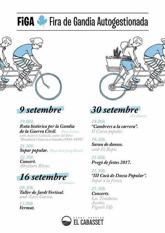 La FIGA de Gandia celebra una nova edició el pròxim 30 de setembre