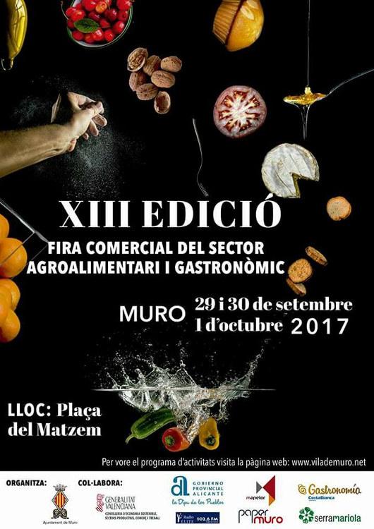 Muro viu la XIII edició de la Fira Comercial del sector Agroalimentari i Gastronòmic