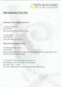 Quatretonda acull la 40a Festa de les Danses de la Vall d'Albaida