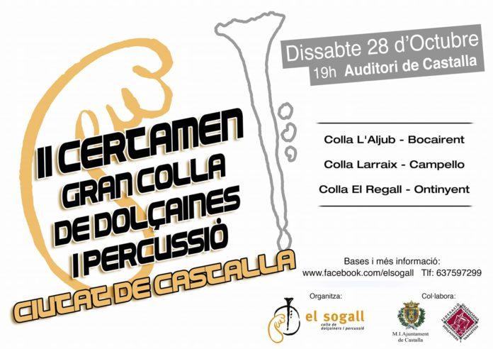 L'Arraix, l'Aljub i el Regall es disputen el segon certamen de colles 'Ciutat de Castalla'