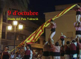 Els pobles de Diània es preparen per al 9 d'octubre, Diada dels valencians