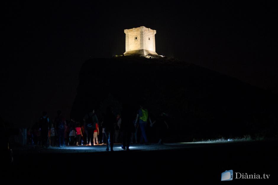 Més de 500 persones gaudeixen de la 'Nit de contes' al castell de Cocentaina