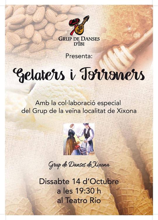 Ibi i Xixona s'uneixen a través del ball amb el festival 'Gelaters i Torroners'