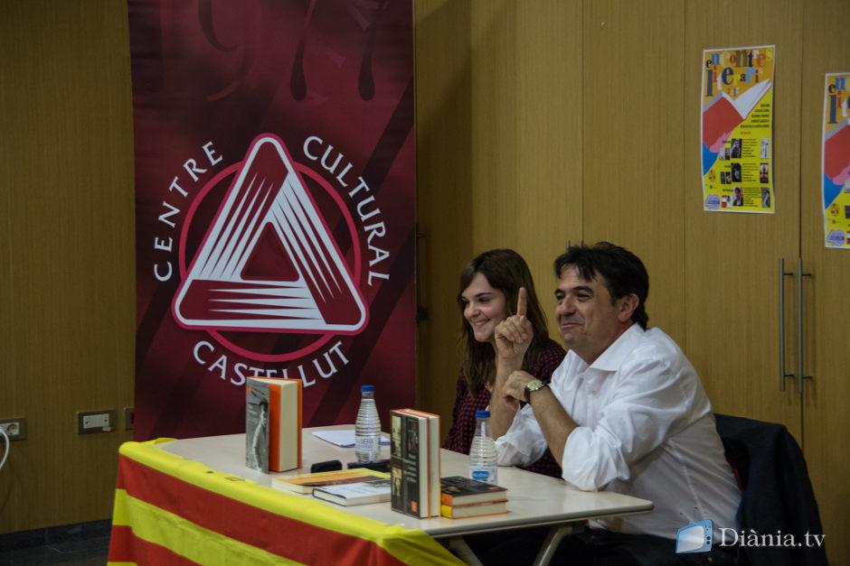 Martí Domínguez: 'Els meus llibres estan fets d'una forma combativa, no crec en la literatura d'entreteniment'