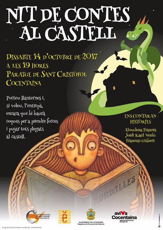 La 'Nit de contes al castell' torna a Cocentaina el pròxim 14 d'octubre