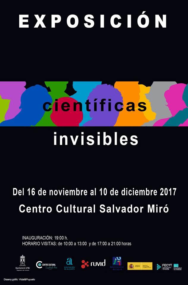 Ibi rep l'exposició 'Científiques invisibles' per reivindicar el paper de les dones en la ciència