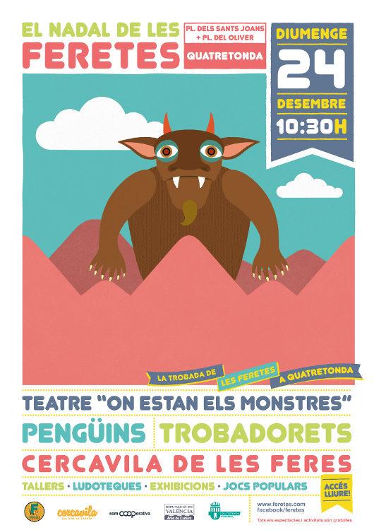 Quatretonda acull una mini-edició del festival infantil 'Feretes i Cançonetes'