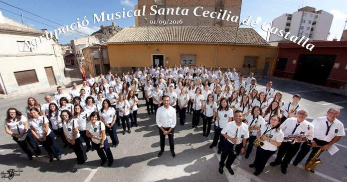 L'Agrupació Musical Santa Cecília de Castalla celebra la gran festa de la música