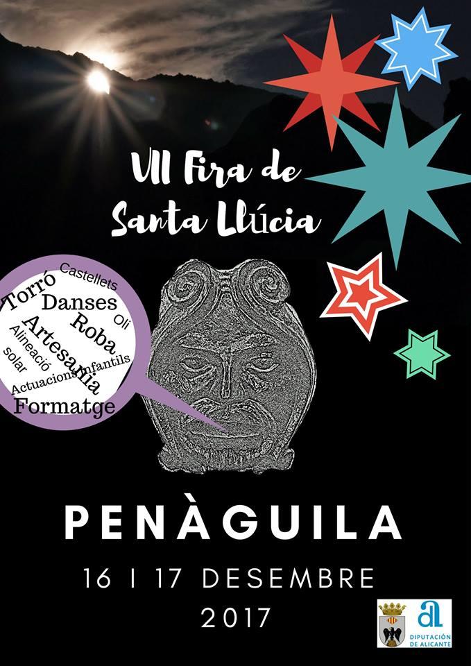 Penàguila celebra la setena edició de la Fira de Santa Llúcia els pròxims 16 i 17 de desembre