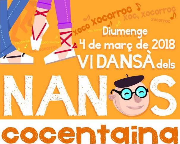 La Dansà dels Nanos torna a Cocentaina per envair els carrers amb música, festa i tradició
