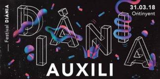 Auxili, ZOO i Xavi Sarrià encapçalen el cartell del Festival Diània a Ontinyent