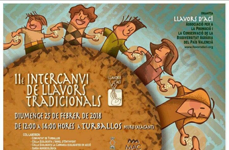 L'intercanvi de llavors tradicionals torna a Turballos, capital de la biodiversitat agrària