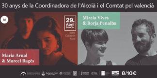 La Coordinadora pel Valencià de l'Alcoià i el Comtat celebra el 30é aniversari