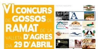 El Concurs de Gossos de Ramat torna a la Valleta d'Agres el 29 d'abril