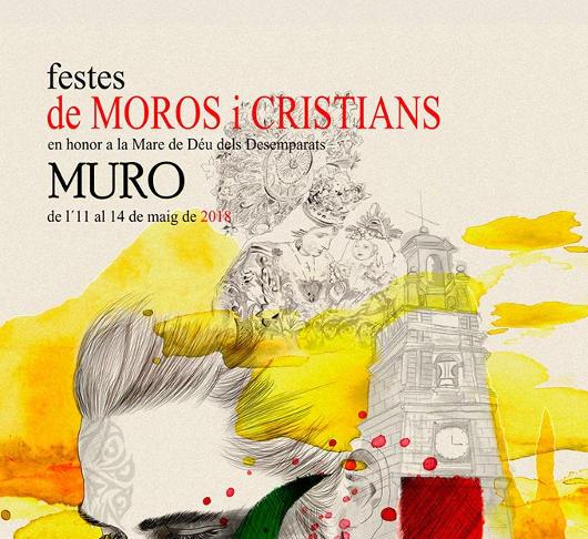 Muro viu les festes de Moros i Cristians en honor a la Mare de Déu dels Desemparats