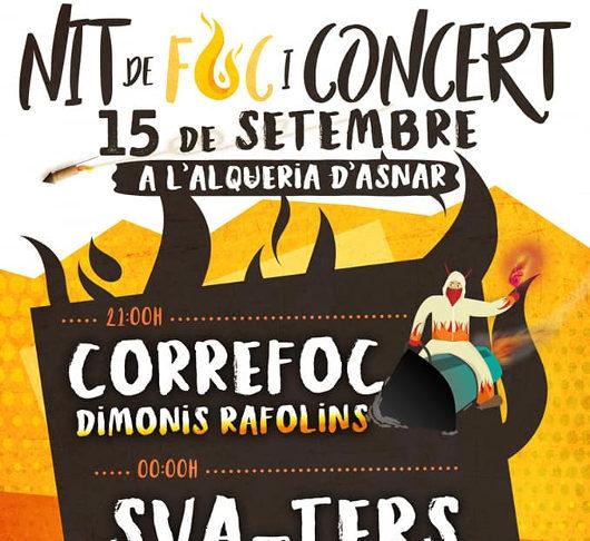 Els concerts de Sva-Ters i Strombers enceten els actes festius a l'Alqueria d'Asnar