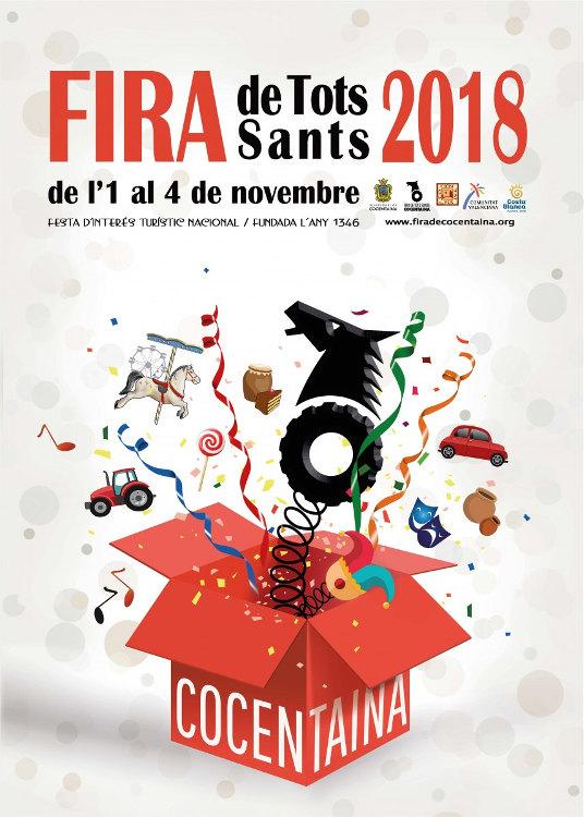 La 672a Fira de Tots Sants de Cocentaina comptarà amb més de 500 activitats culturals