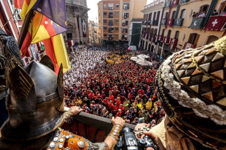 Callosa d'en Sarrià viu les festes patronals de Moros i Cristians