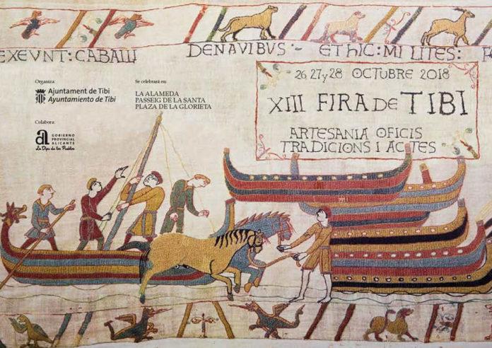 Tibi celebra la XIII edició de la Fira d'artesania, tradicions i oficis