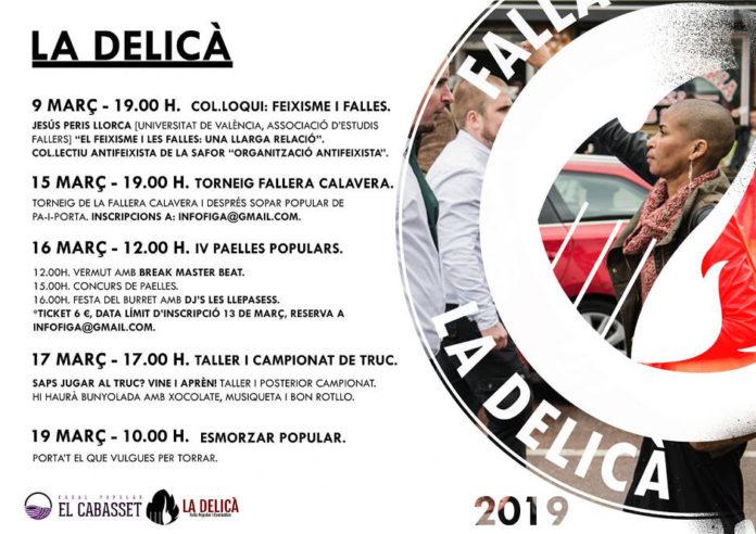 La Delicà de Gandia inicia la seua programació popular i alternativa el 9 de març