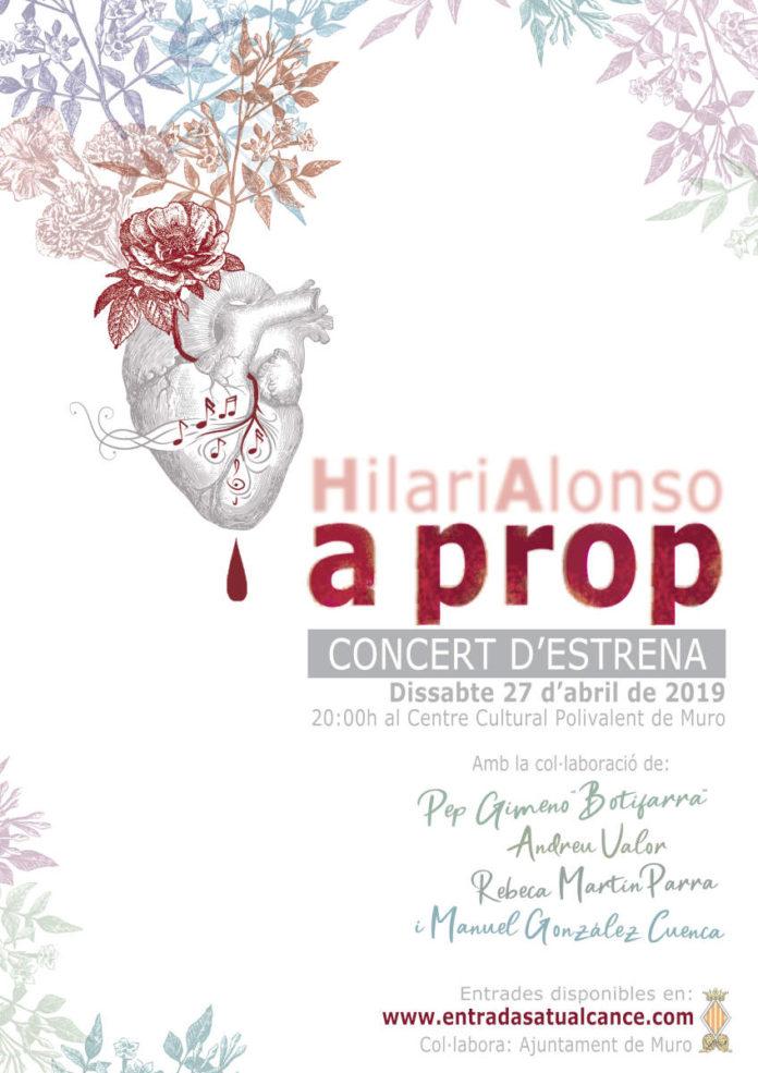 Hilari Alonso A prop Presentació Disc 2019