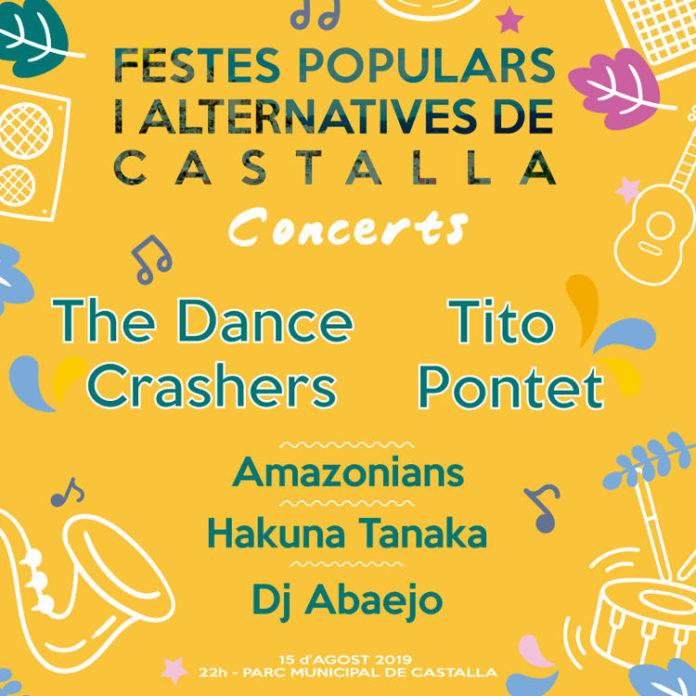 The Dance Crashers i Tito Pontet encapçalen els concerts de les FPA Castalla
